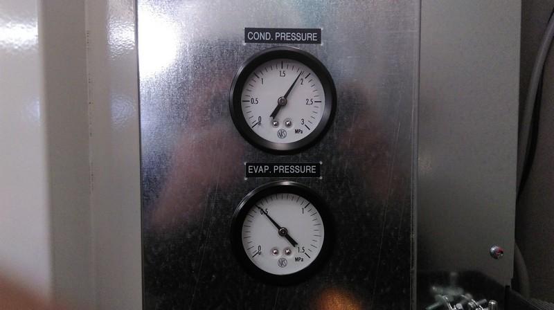 Thông số Máy làm lạnh nước _ Opeation Pressure Water Chiller RKL7500D