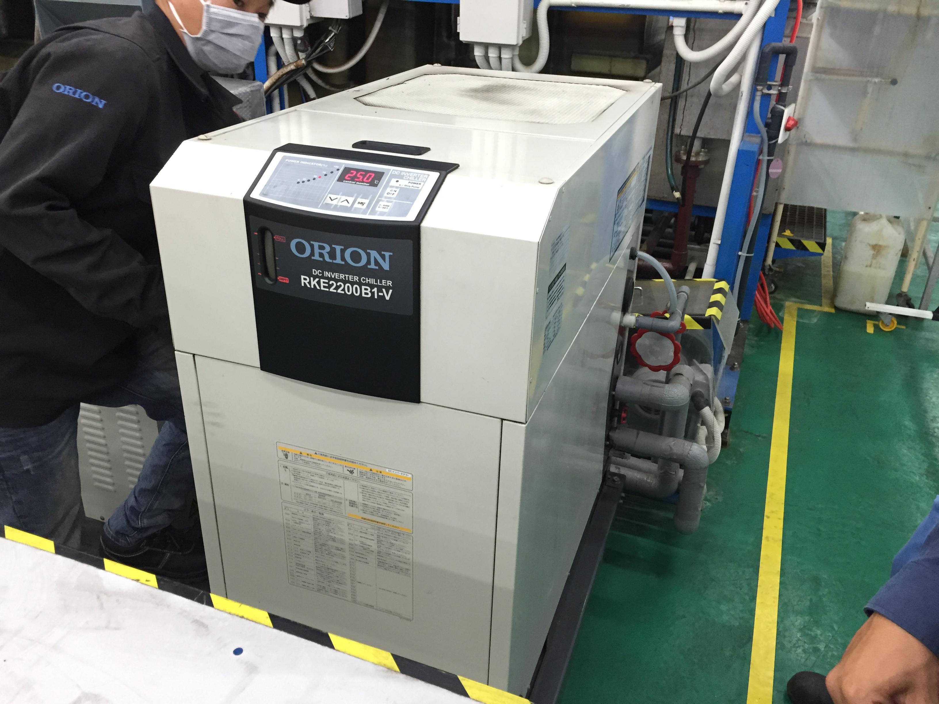 Chiller ORON for Plating Machine – Máy làm lạnh nước ORION sử dụng cho máy mạ!