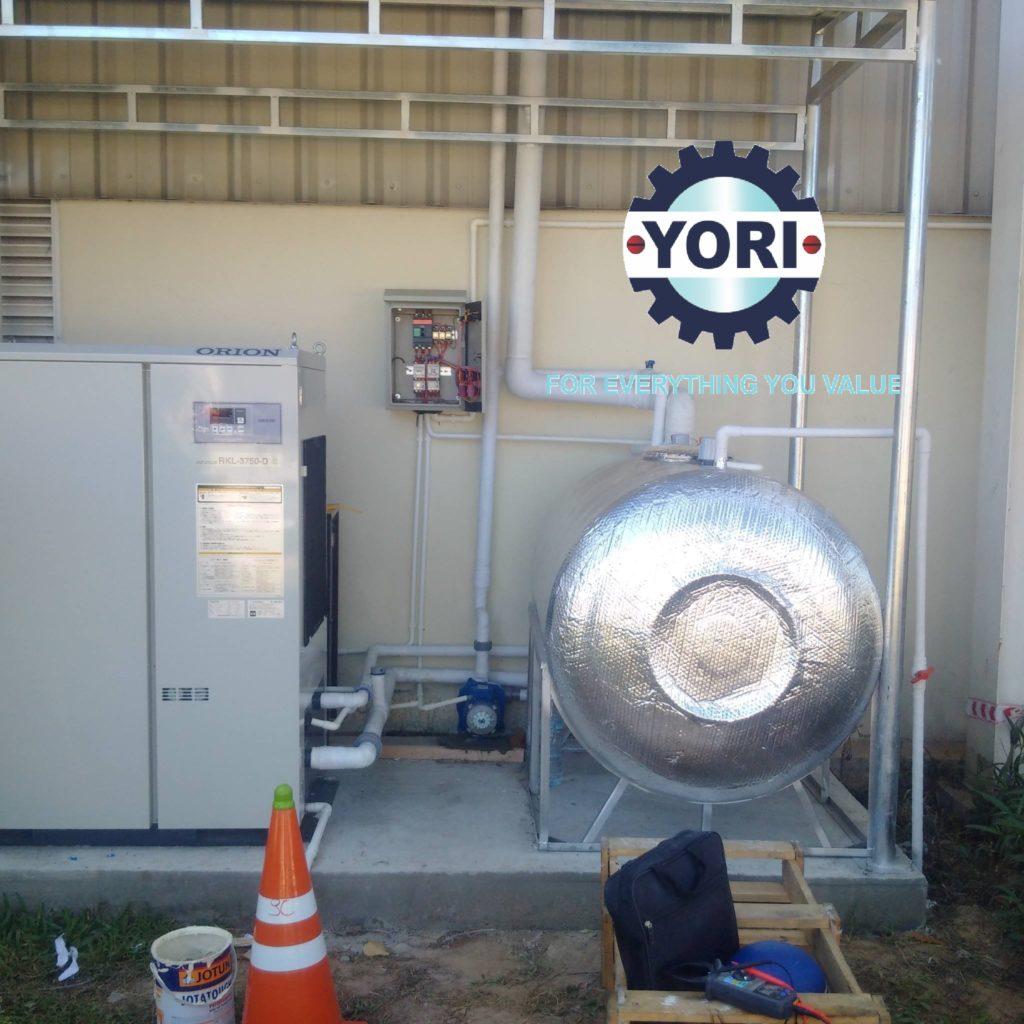 Testing and Commissioning Chiller ORION – Kiểm tra và chạy thử máy làm lạnh nước