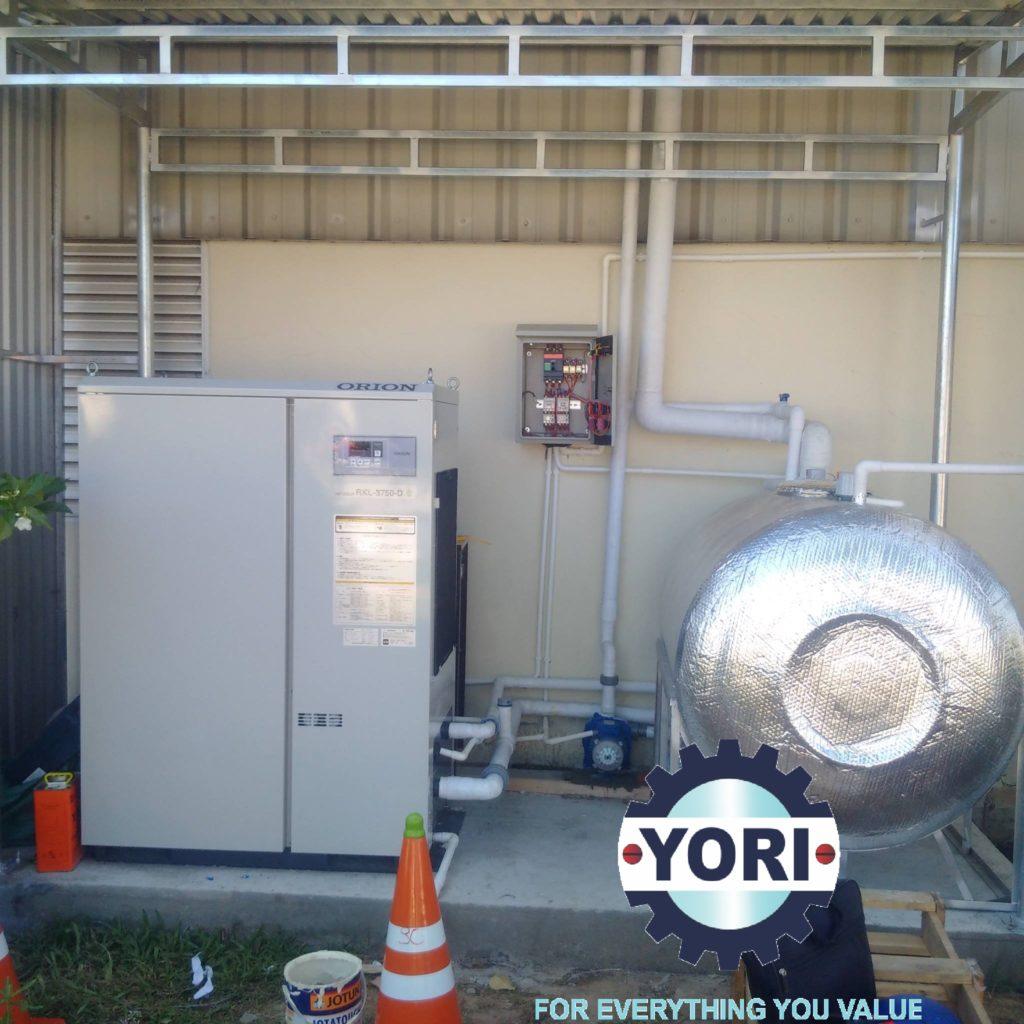 Kết nối ống và van cho máy làm lạnh nước Piping Connections For Water Chiller – Kết Nối Ống và Van Cho Máy Làm Lạnh Nước ORION