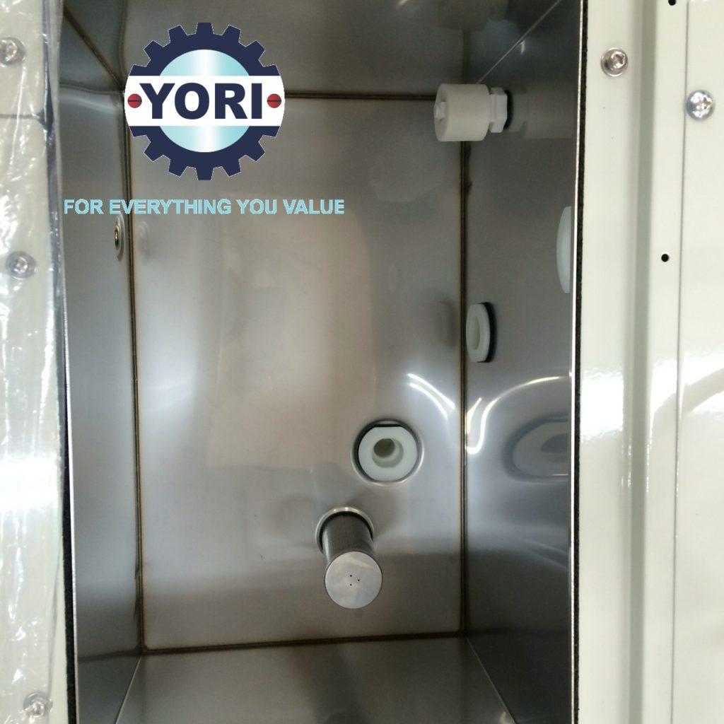 SUS Water Tank (Include water filter, level sensor, etc.) - Bình chứa nước inox (bao gồm lọc nước, cảm biến mức nước v.v....)