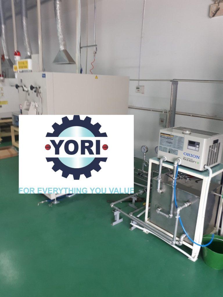 Connect piping and valve for Unit Cooler - Kết nối ống và van cho máy làm lạnh nước bởi nhà thầu!