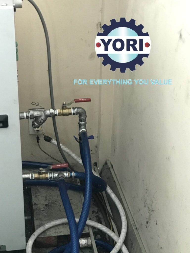 Connect Valve and Piping for Water Chiller (By Owner) - Kết nối ống và van cho máy làm lạnh nước ORION (thực hiện bởi Chủ Đầu Tư).
