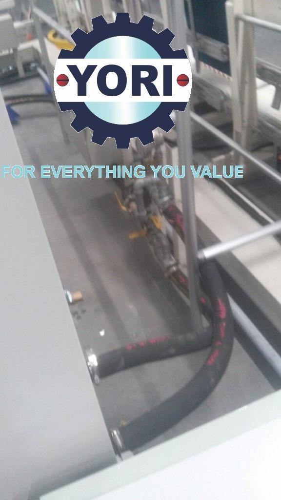 Connect Valve and Piping for Water Chiller (By M&E Contractor) – Kết nối ống và van cho máy làm lạnh nước ORION (thực hiện bởi Nhà Thầu Cơ Điện).