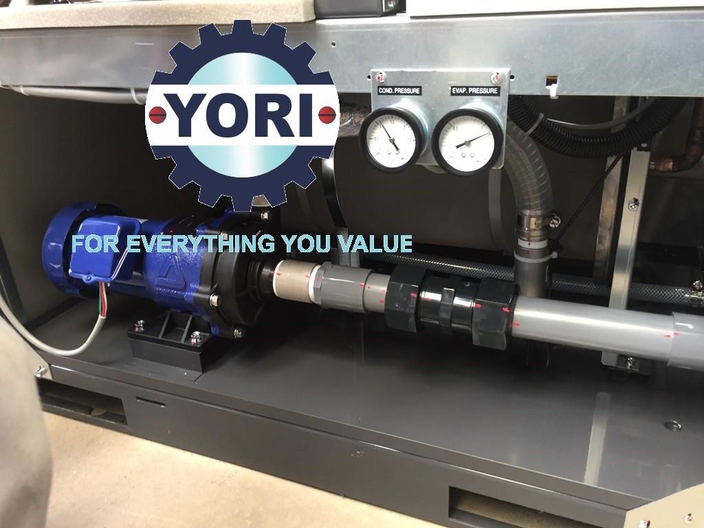 Circulation Pump Inside Unit Cooler - Bơm nước tuần hoàn tích hợp sẵn bên trong chiller