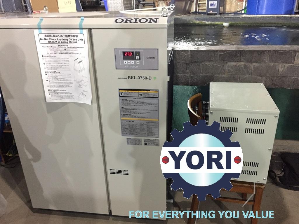 YORI – Máy làm lạnh nước cho hồ nuôi cá