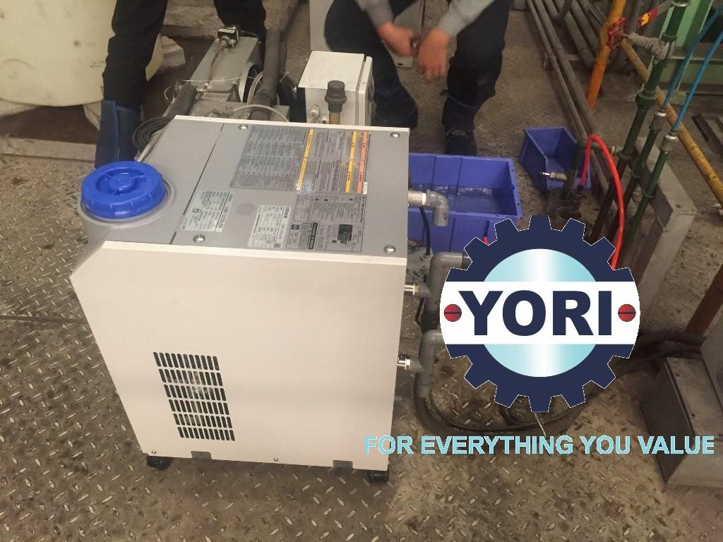 Air Cooled Chillers with Built-In Water Tank RKS-J-MV series - Dòng máy làm lạnh nước tích hợp sẵn bơm và bình chứa sản xuất tại nhà máy ORION Nhật Bản - RKS-J-MV