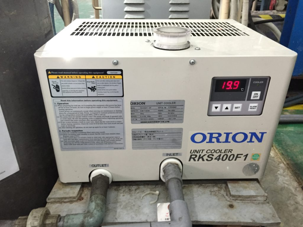 Unit Cooler For Plating Machine System - Bộ làm mát - RKS400F1 - ORION