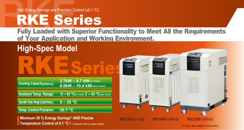 Dòng máy làm lạnh nước siêu tiết kiệm năng lượng
