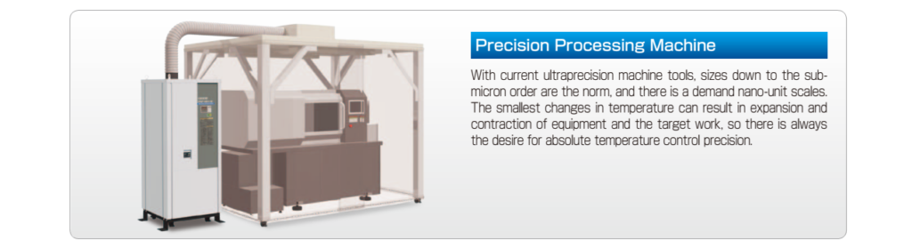 precision processing machine