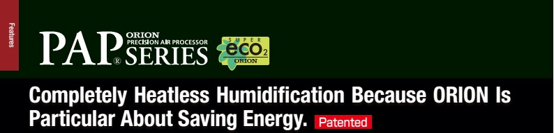 completely heatless humidification