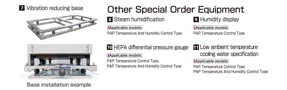bệ chống rung - lọc gió HEPA -