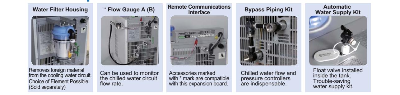 phụ kiện - tùy chọn cho máy làm lạnh nước