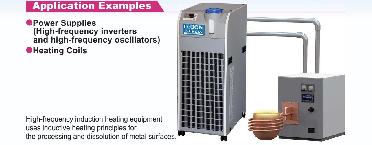 ứng dụng điển hình máy làm lạnh nước orion