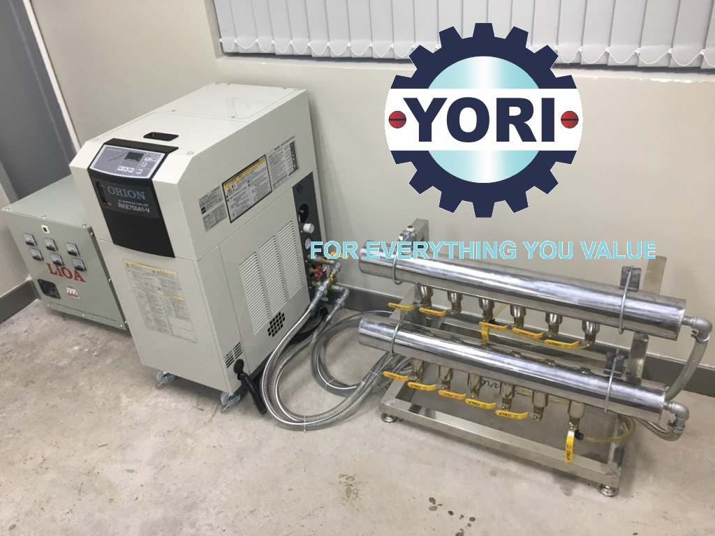 DC Inverter Chiller ORION For Manufacturing and Processing In The Electronic Interconnect Industry – Máy Làm Lạnh Nước Biến Tần DC Sử Dụng Để Giải Nhiệt Trong Ngành Công Nghiệp Kết Nối Điện Tử.