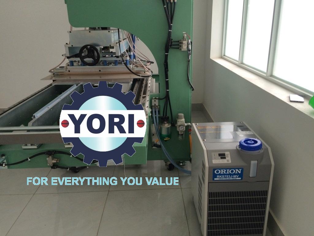 Water Chiller ORION For Manufacturing plastic trays ,blisters – Máy Chiller Giải Nhiệt máy công cụ chuyên về sản xuất nhựa chất lượng Nhật Bản…!
