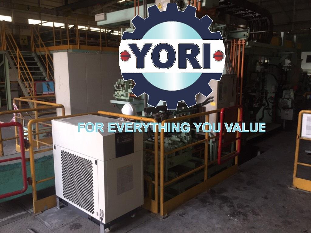 DC Inverter Chiller ORION For Steel Sheet Manufacturing Factory – Máy làm lạnh biến tần Giải Nhiệt máy công cụ chuyên sản xuất thép tấm!