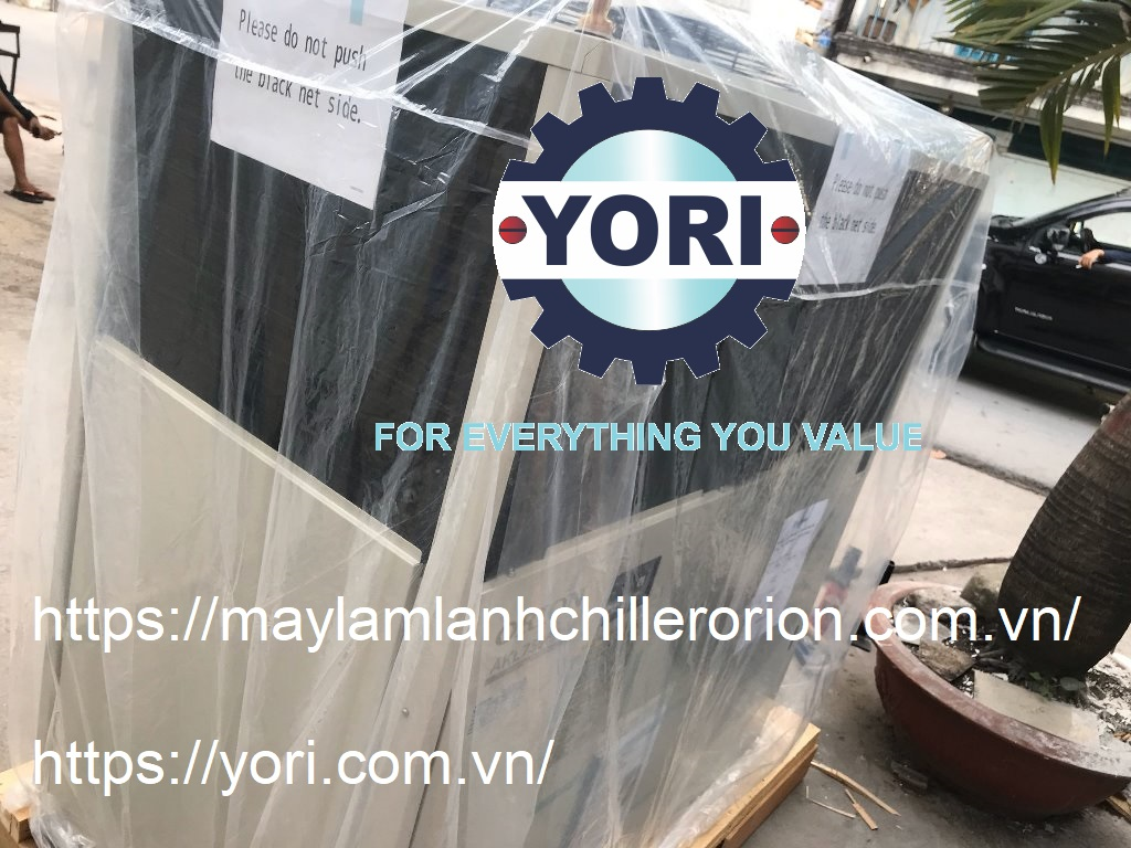 Air Cooled Chillers with Built-In Water Tank for Production Machine – Máy làm lạnh nước ORION giải nhiệt cho máy sản xuất!