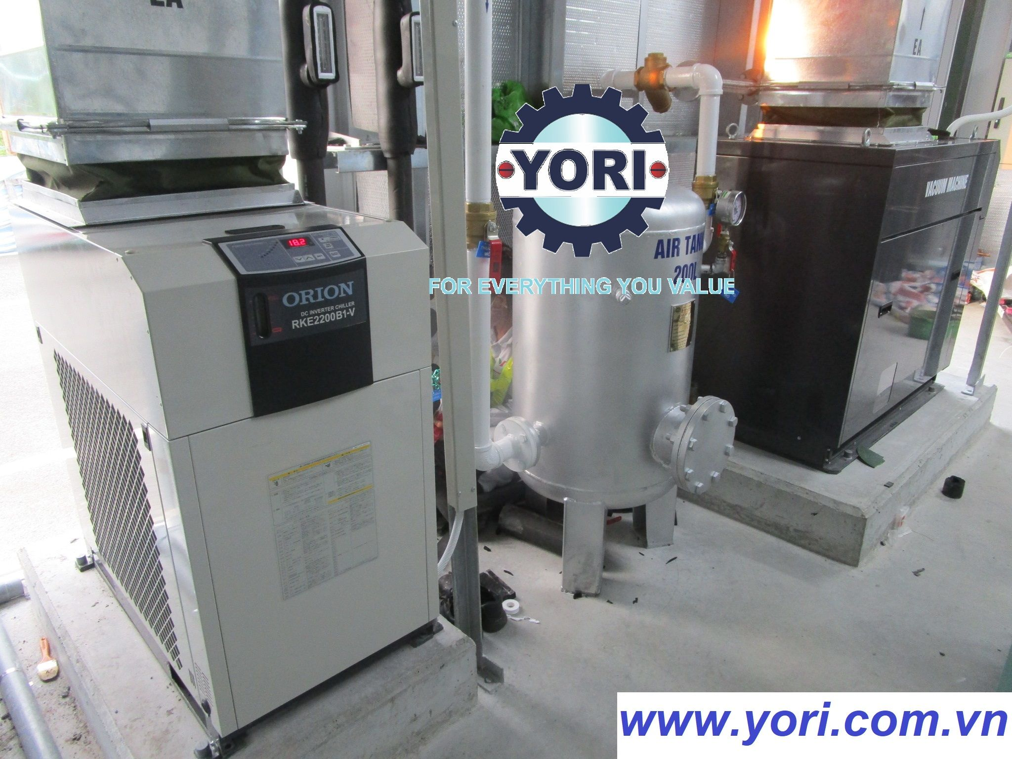 YORI – ORION DC INVERTER CHILLER _ INVERTER DRY PUMP – JAPAN